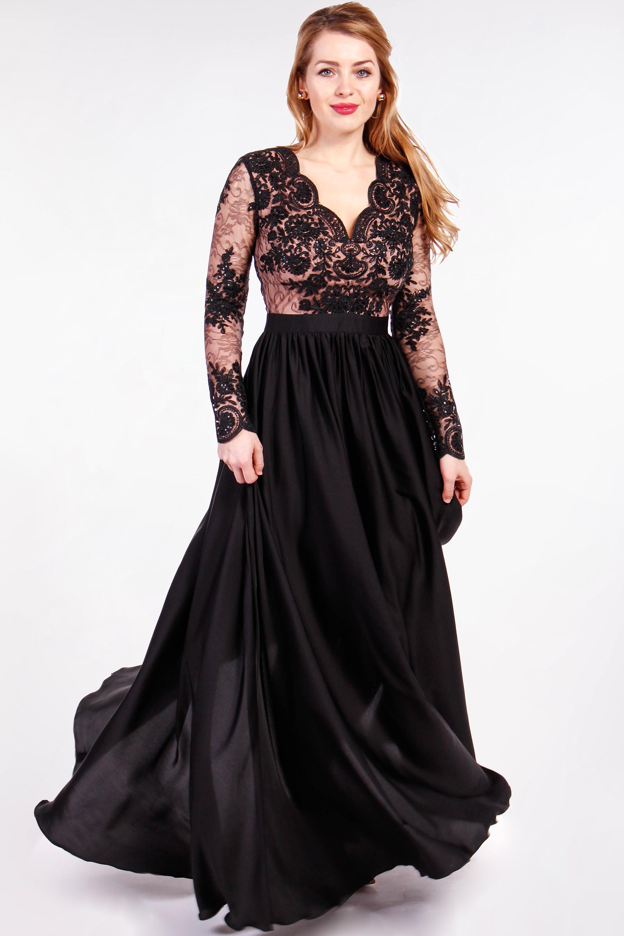 c1cef1a49715 Čierne plesové šaty - Shaty