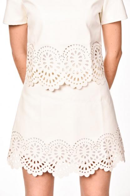 obrázok 3 Dvojdielne šaty s ozdobným okrajom