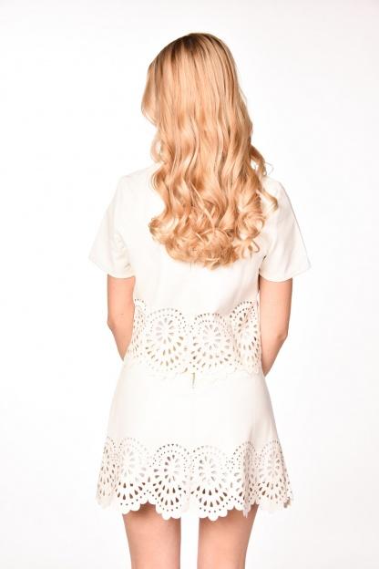 obrázok 2 Dvojdielne šaty s ozdobným okrajom