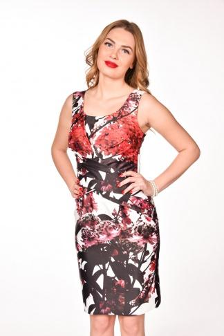 obrázok 1 LIPSY kvetované šaty po kolená