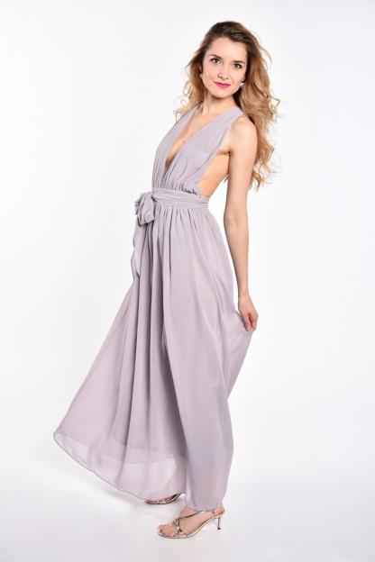 obrázok 4 Plážové maxi šaty s opaskom
