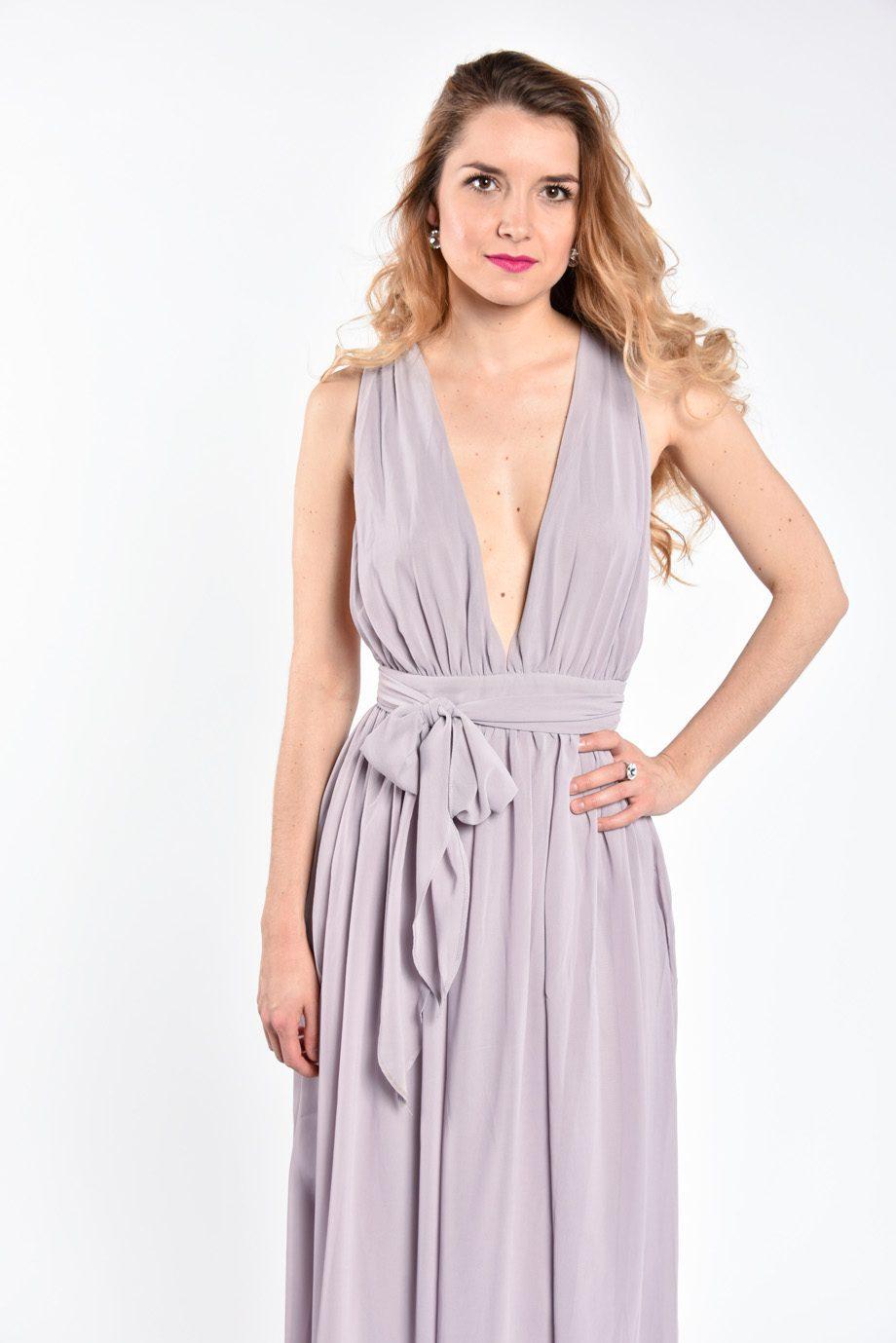 obrázok 3 Plážové maxi šaty s opaskom