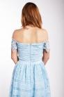 obrázok 2 Chi-Chi London bledomodré čipkované šaty