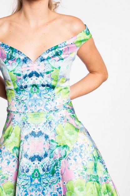 obrázok 3 ASOS dúhované šaty na ramená