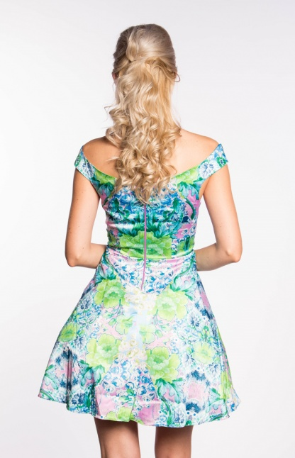 obrázok 4 ASOS dúhované šaty na ramená