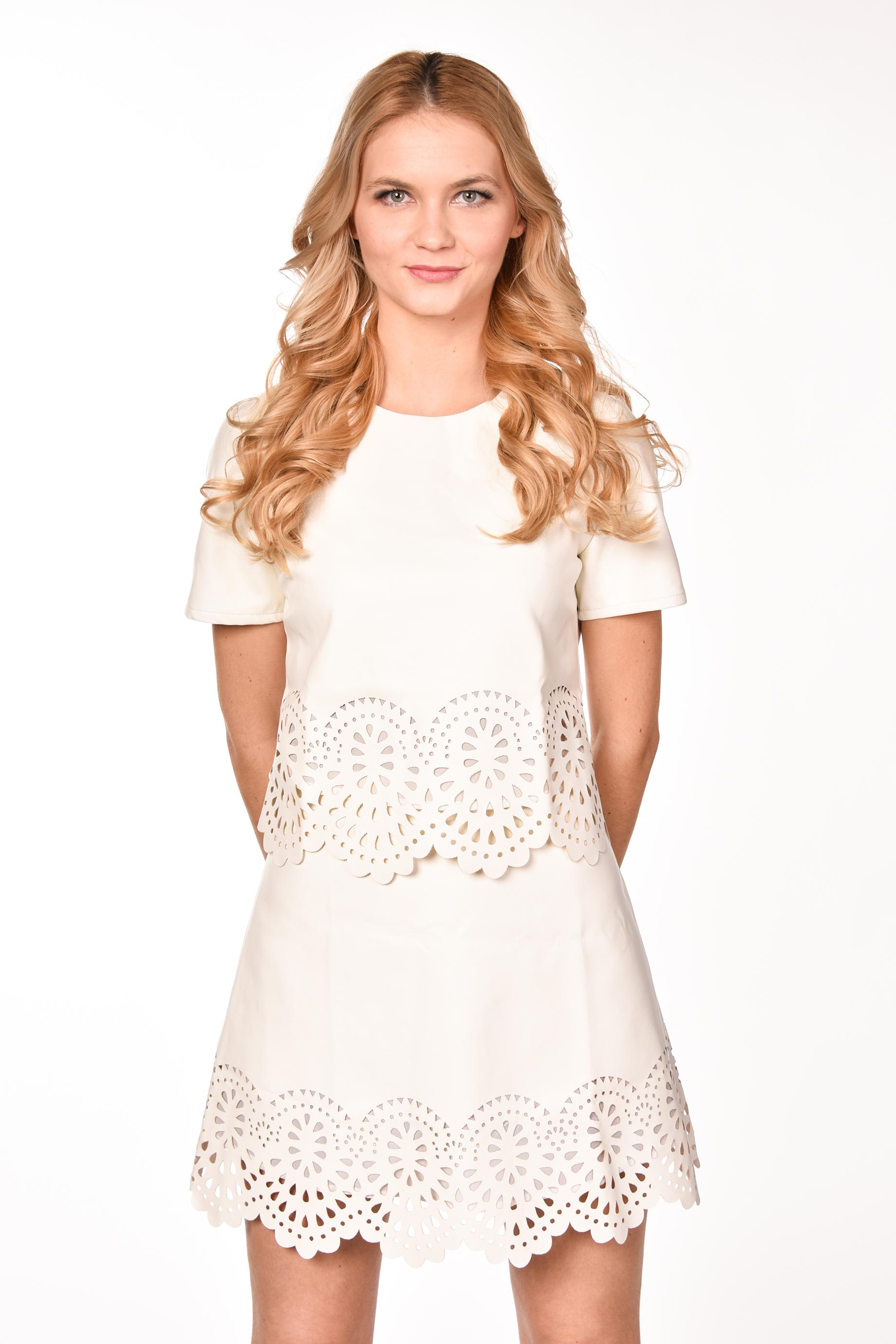 obrázok 1 Dvojdielne šaty s ozdobným okrajom efec95d22c9