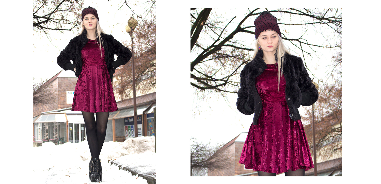 obrázok 1 Ako nosiť šaty aj v zime