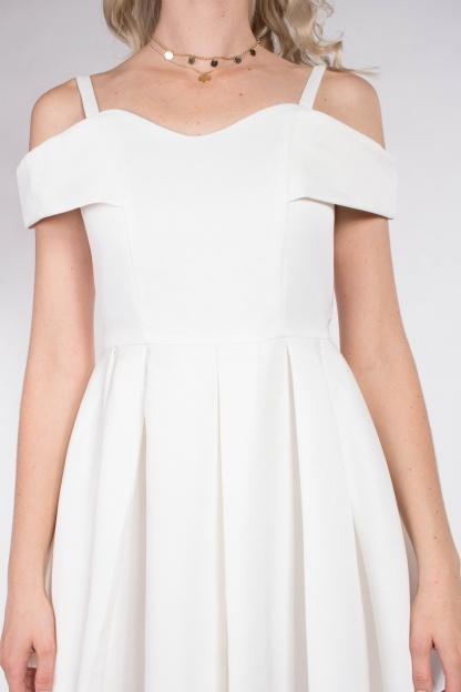 obrázok 3 Chicwish biele mini šaty