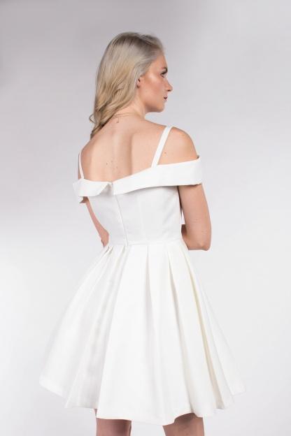 obrázok 2 Chicwish biele mini šaty