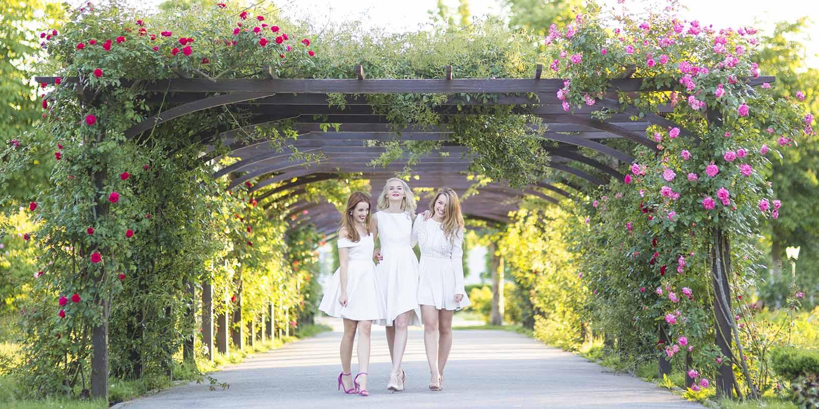 obrázok 1 biele letné šaty