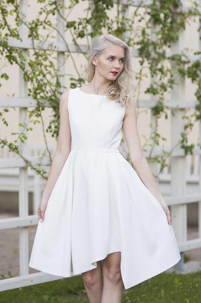 obrázok 5 biele letné šaty