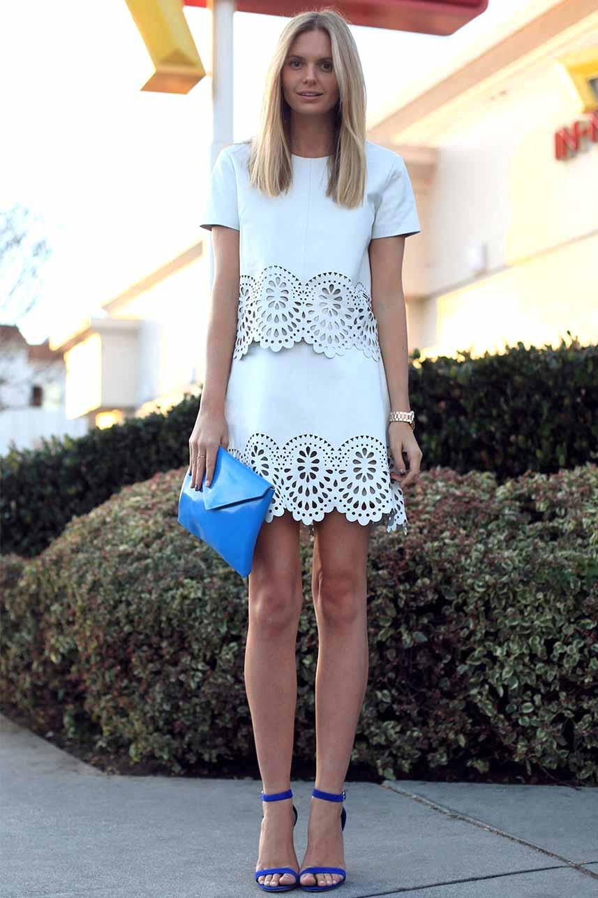 obrázok 8 biele letné šaty