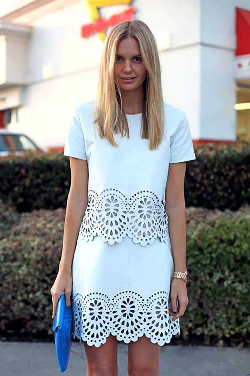 obrázok 9 biele letné šaty