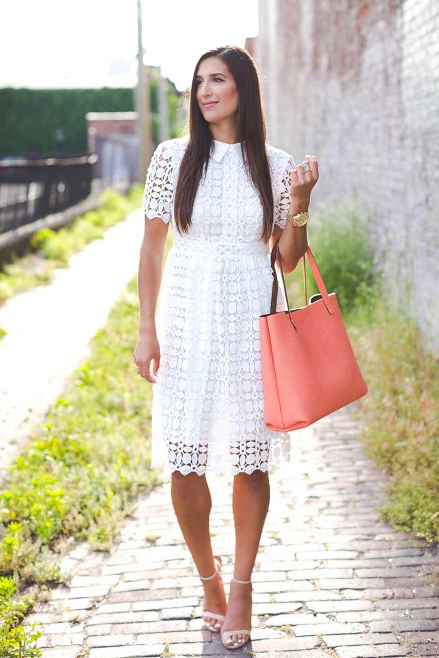 obrázok 10 biele letné šaty