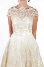 obrázok 2 Chi-Chi London béžovo-zlaté čipkované šaty