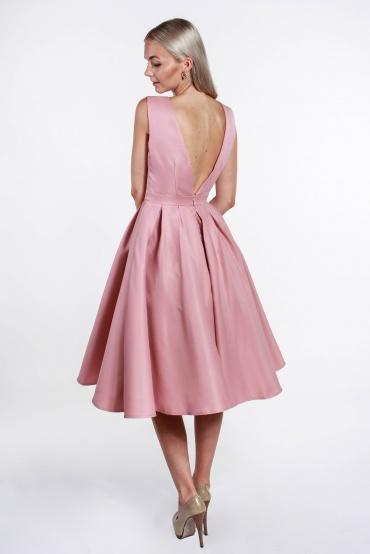 obrázok 2 Chi-Chi London ružové midi šaty