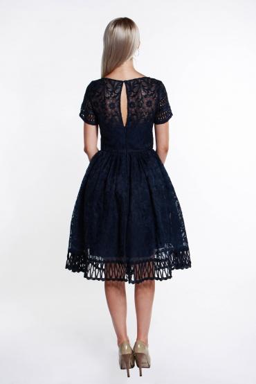 obrázok 2 Chi-Chi London tmavomodré šaty