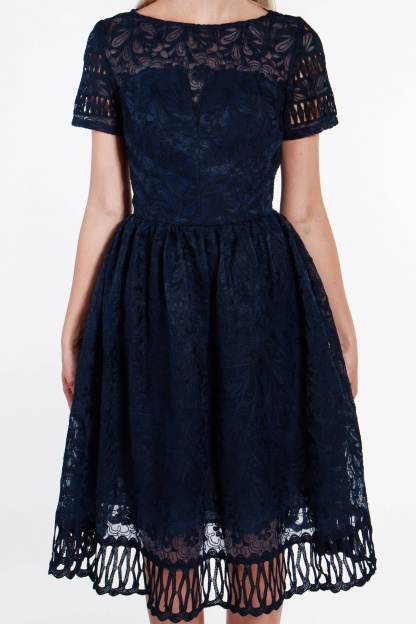 obrázok 3 Chi-Chi London tmavomodré šaty