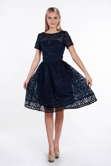 obrázok 4 Chi-Chi London tmavomodré šaty