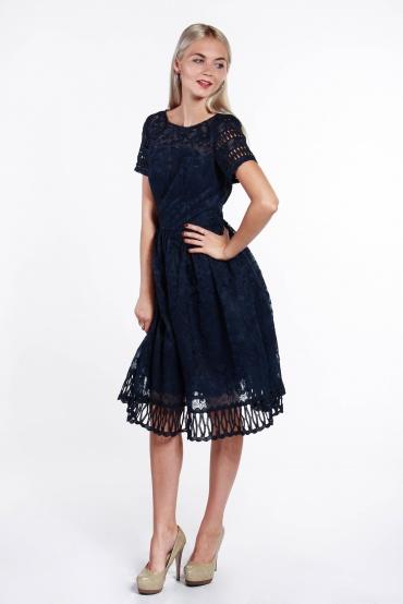 obrázok 5 Chi-Chi London tmavomodré šaty
