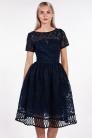 obrázok 1 Chi-Chi London tmavomodré šaty
