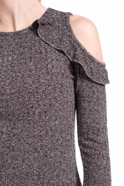 obrázok 3 Missguided šedé šaty