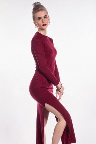 obrázok 1 New Look bordové šaty