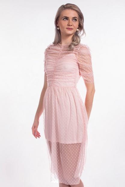 obrázok 1 ASOS ružové šaty