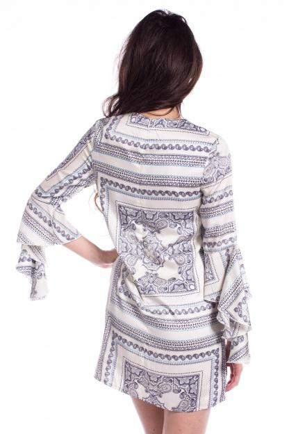 obrázok 2 Missguided šaty s volánovým rukávom