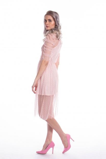 obrázok 3 ASOS ružové šaty