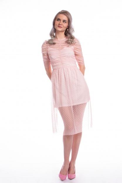 obrázok 4 ASOS ružové šaty