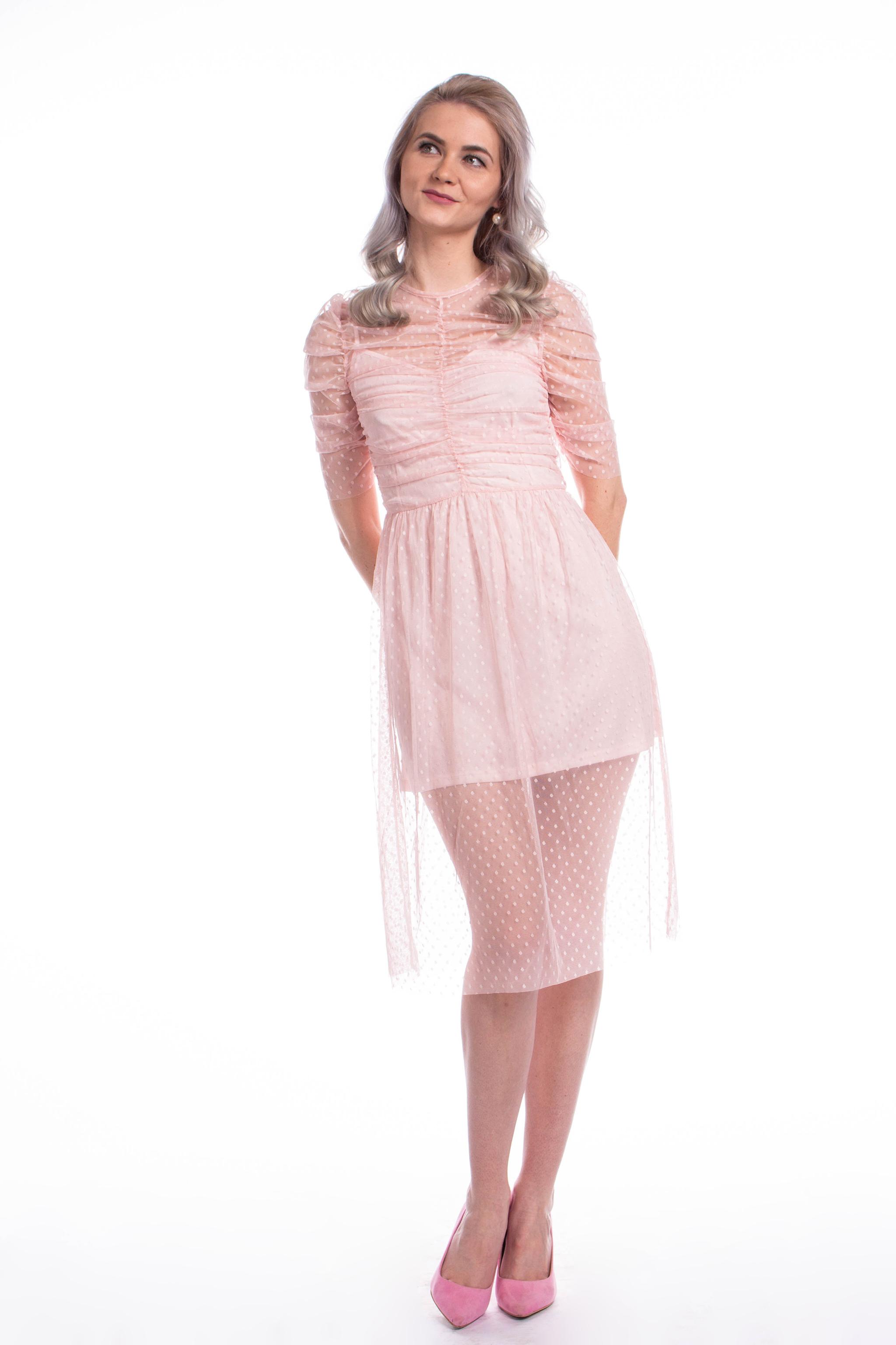 obrázok 4 ASOS ružové šaty 72707d12164