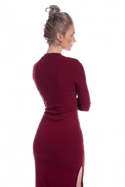 obrázok 3 New Look bordové šaty