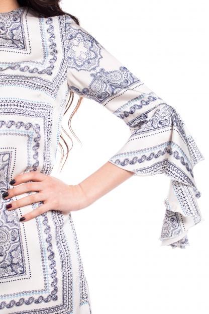 obrázok 4 Missguided šaty s volánovým rukávom