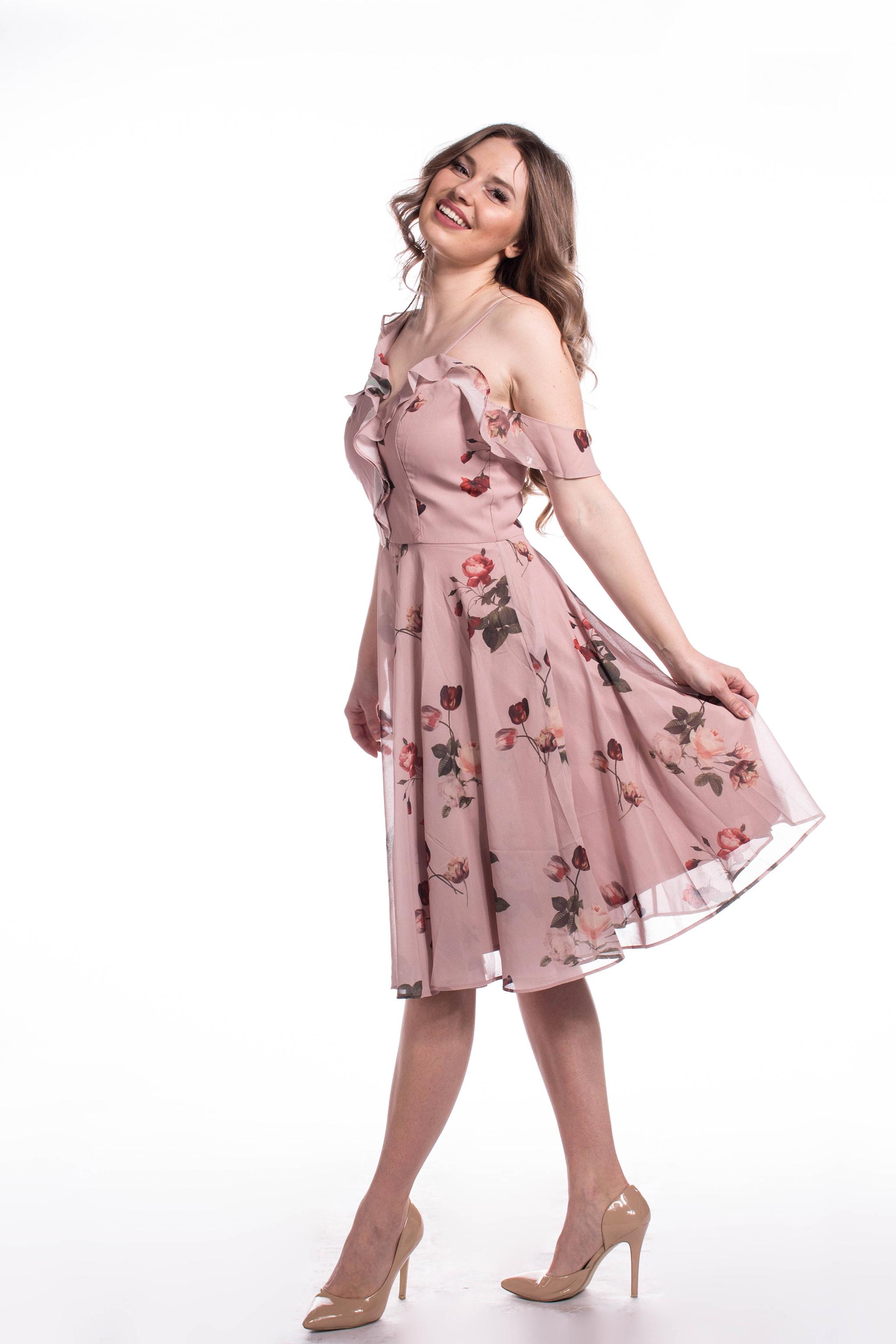 Chi-Chi London staroružové šaty (požičanie) - Shaty 43a9a025d0b