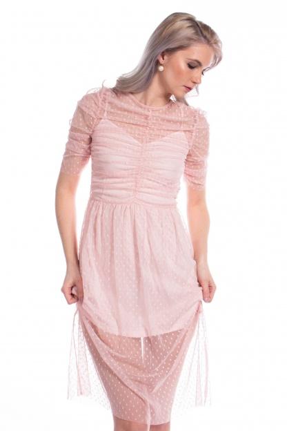 obrázok 6 ASOS ružové šaty