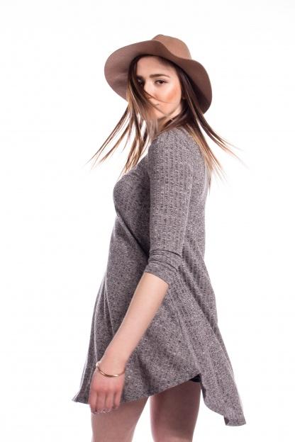 obrázok 2 New Look šedé šaty s vreckami