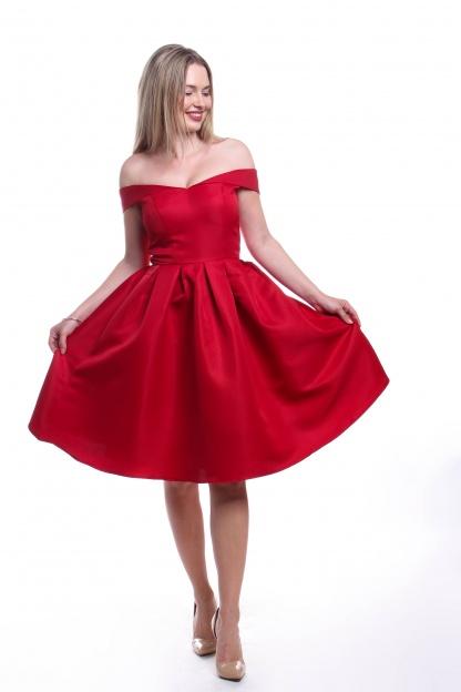 Obrázok 2 Chi-Chi London červené šaty