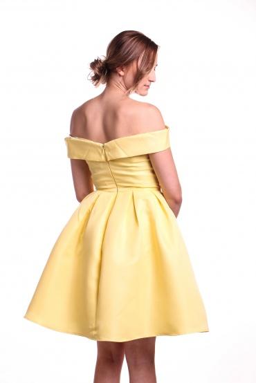 Obrázok 2 Chi-Chi London žlté šaty