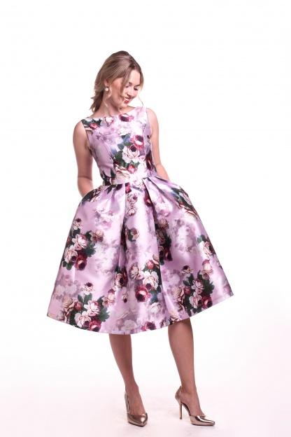 Obrázok 2 Chi-Chi London kvetované šaty