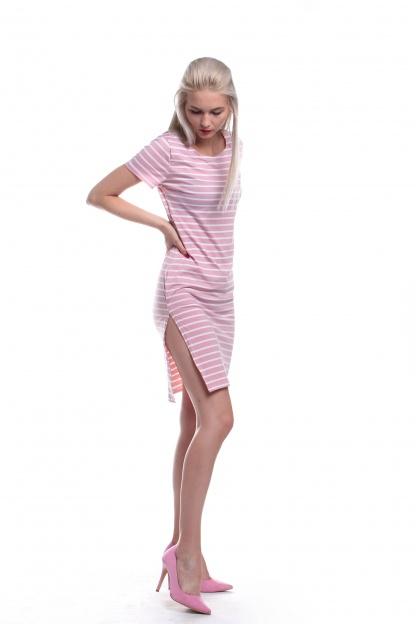 Obrázok 2 New Look ružové pruhované šaty