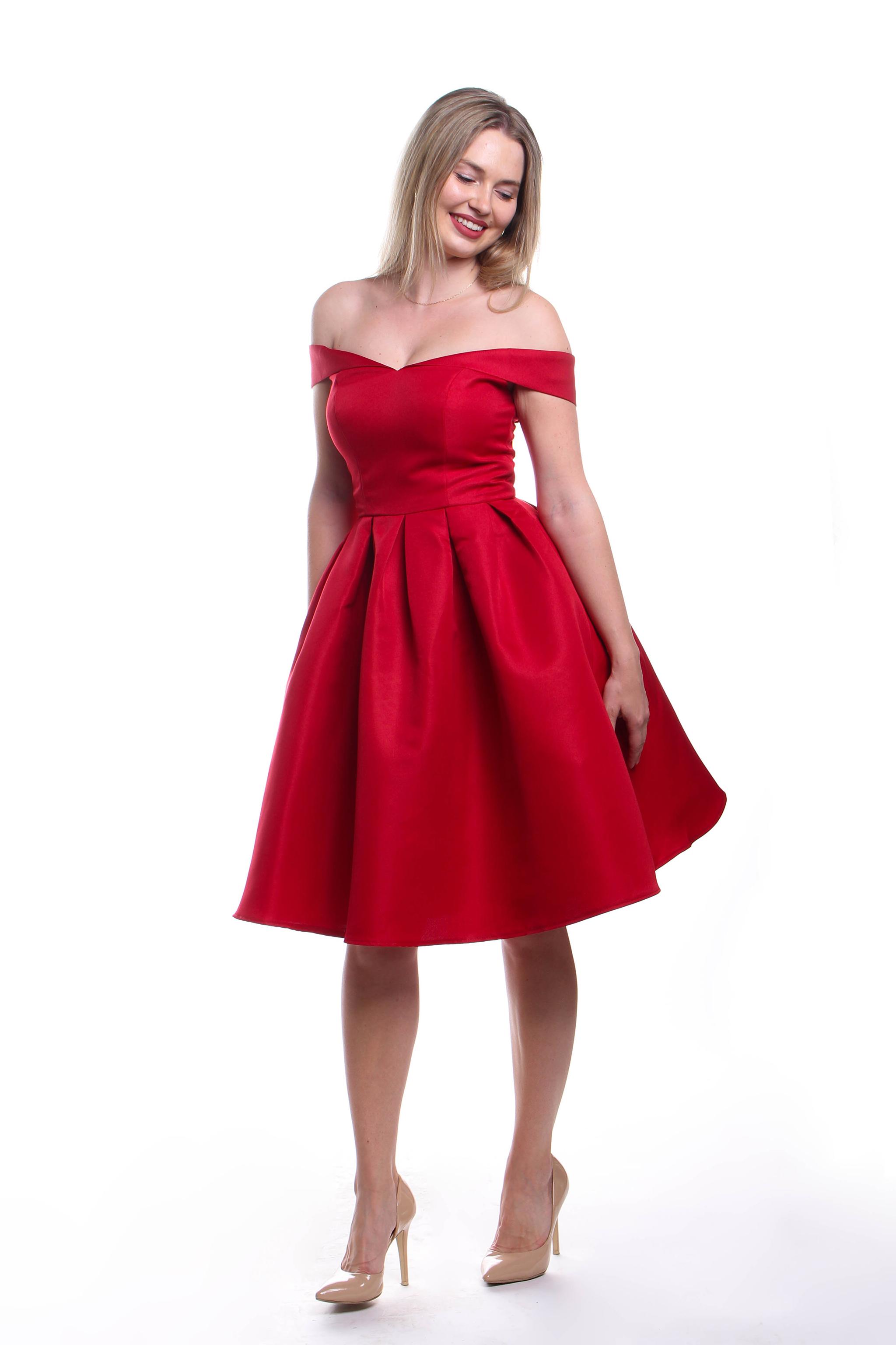 46136d7d5019 Obrázok 3 Chi-Chi London červené šaty