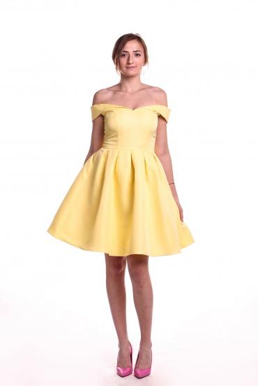 Obrázok 3 Chi-Chi London žlté šaty