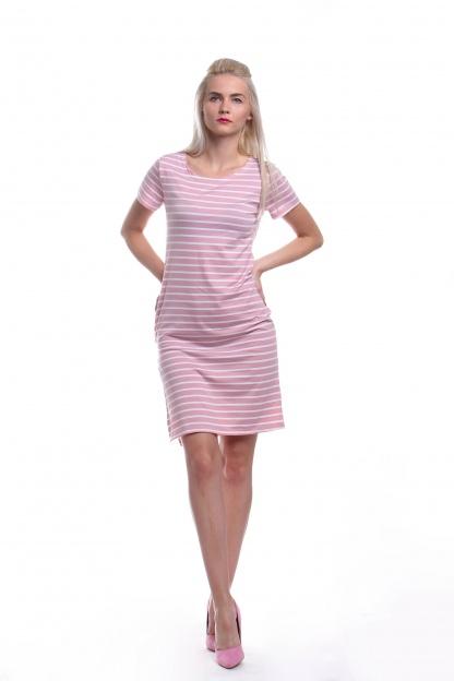 Obrázok 3 New Look ružové pruhované šaty