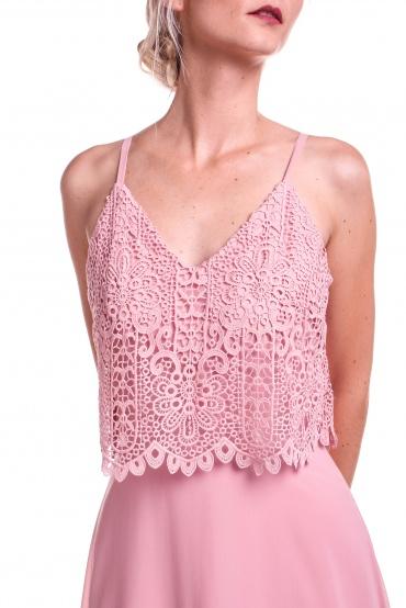 Obrázok 3 Obrázok 1 Chi-Chi London ružové maxi šaty