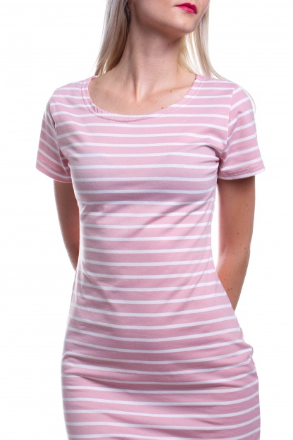 Obrázok 4 New Look ružové pruhované šaty