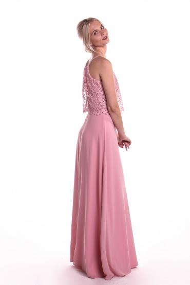 Obrázok 4 Obrázok 1 Chi-Chi London ružové maxi šaty