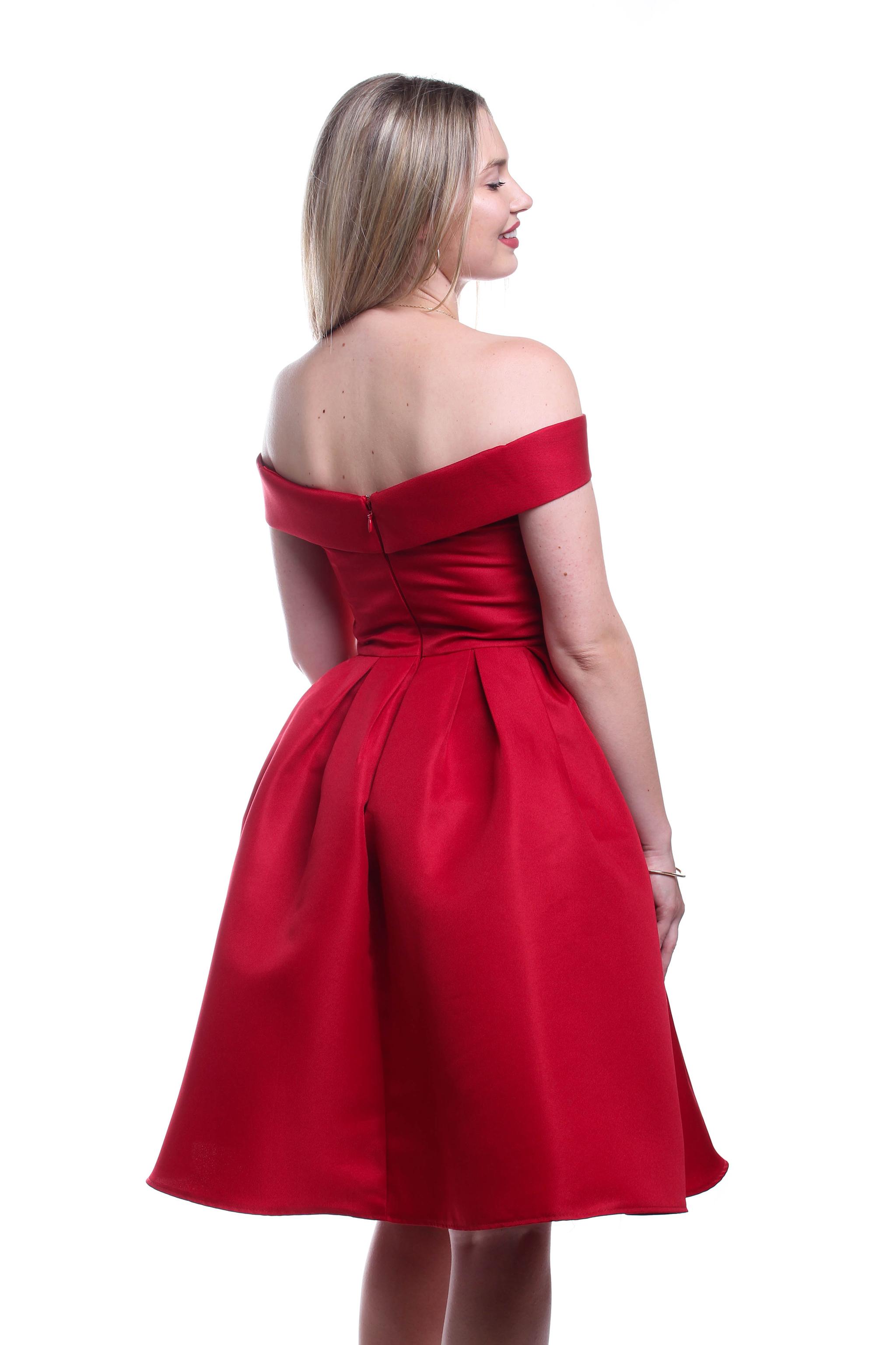 Obrázok 5 Chi-Chi London červené šaty - Shaty fd1b8850624