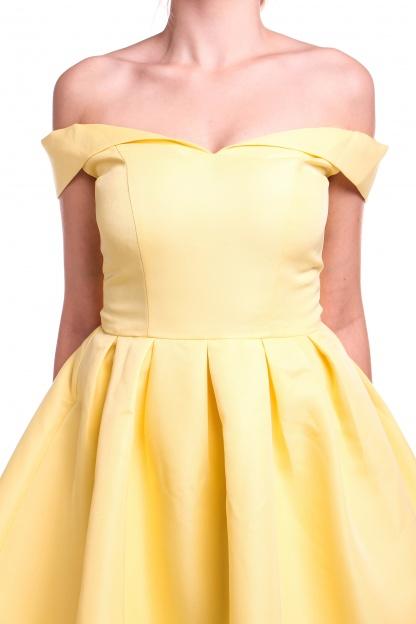 Obrázok 5 Chi-Chi London žlté šaty