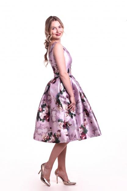 Obrázok 5 Chi-Chi London kvetované šaty